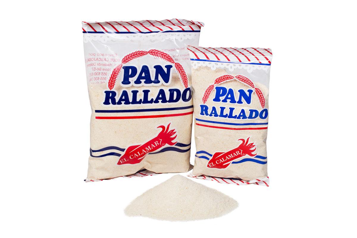 PAN RALLADO El Calamar